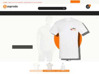 Détails : Vêtements personnalisés en ligne impression et broderie