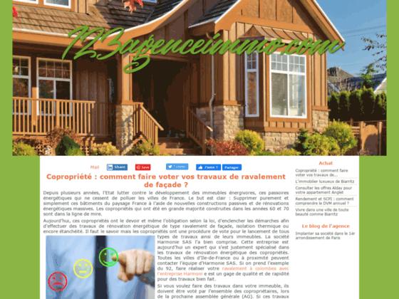 123agenceimmo.com immobilier