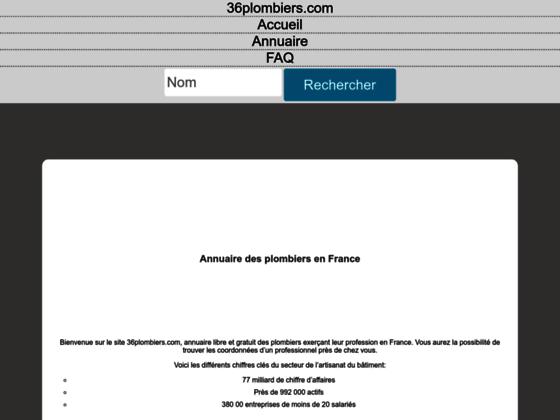 Annuaire des plombiers qualifiers en France