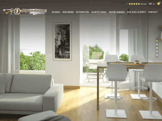 Agence immobili�re 1 D�pendance Immobilier