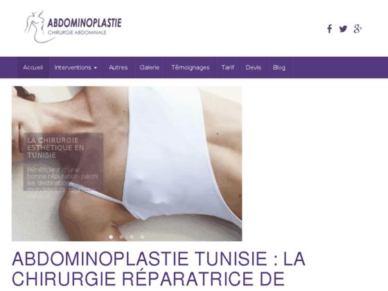 Chirurgie esthétique abdomen Tunisie