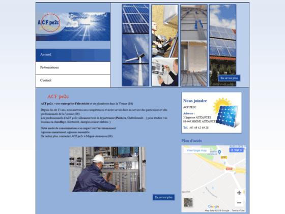 Entreprise électricité Châtellerault (86) : ACF pe2c