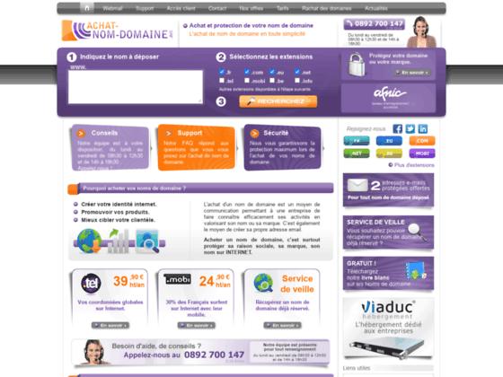 Achat-Nom-Domaine.net - Achat de nom de domaine
