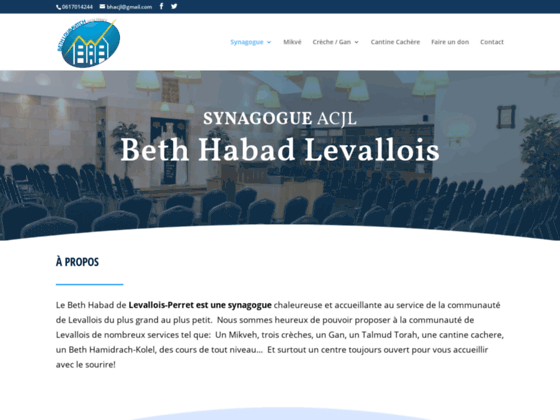 Beth Habad de LEVALLOIS
