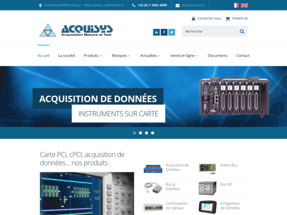 Acquisys Instruments de Mesure
