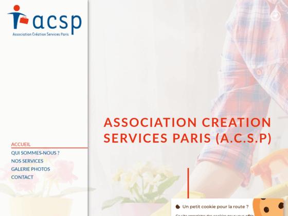 acsp : service d'aide à domicile Paris