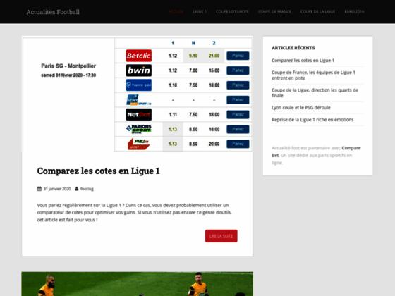 Actualit� Ligue 1