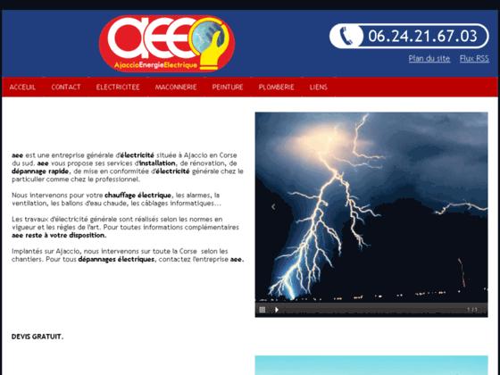 Electricite Energie Ajaccio
