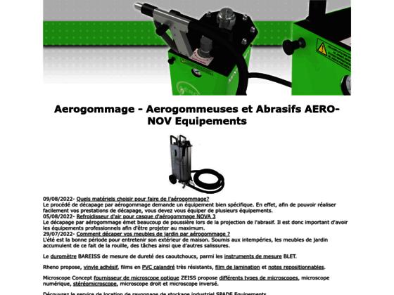 Aérogommage - Décapage Aérogommeuses & Abrasifs