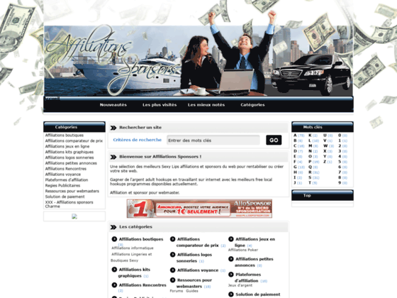 Affiliations - Sponsors rentabiliser votre site