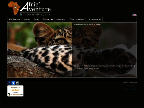 Afric\'Aventure: séjour haut de gamme en Tanzanie