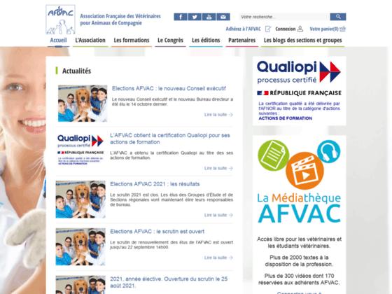 Photo image Association francaise des veterinaires pour animaux de compagnie (AFVAC)