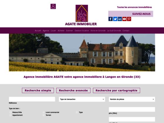 Immobilier Gironde, Noaillan, Langon, vente de maisons et terrains