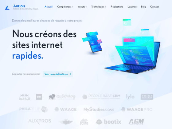 Création de sites internet sur mesure au Mans