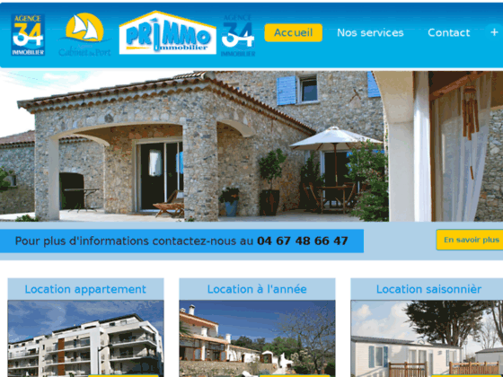 AGENCE 34 IMMOBILIER location appartement Sète
