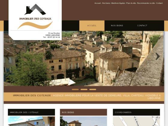 Agence immobilière Libourne
