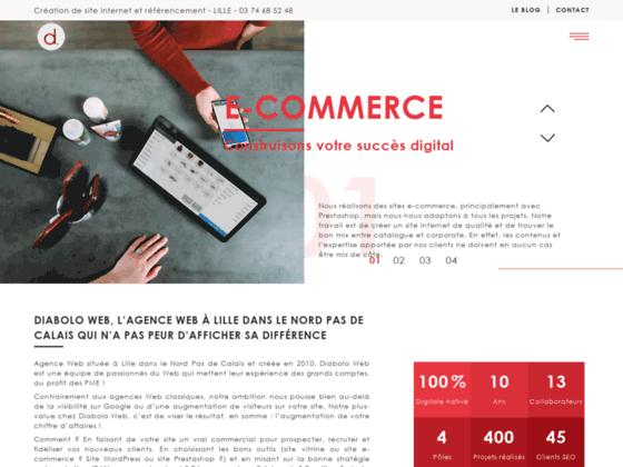 Création sites web Nord-Pas-de-Calais