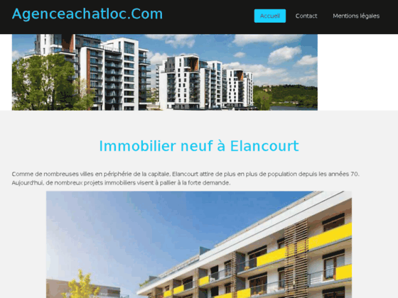 agenceachatloc.com agence immobilière