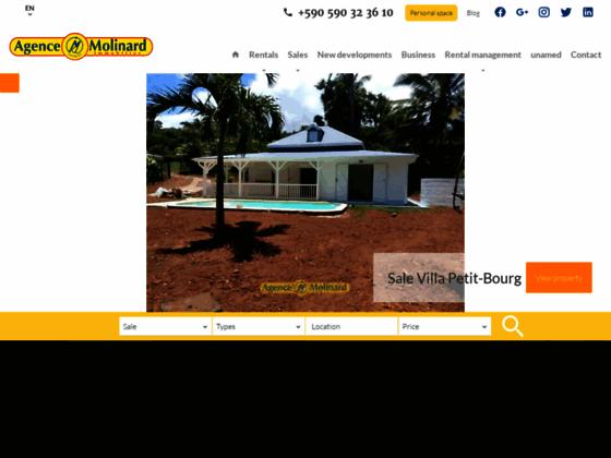 Agence immobilière Molinard Immobilier