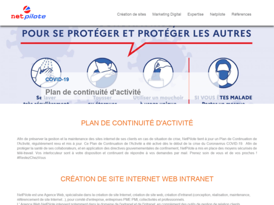 Création Site Internet Référencement Agence Web