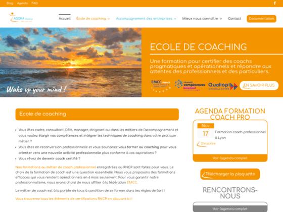 Formation coaching Lyon : Agoraperformance