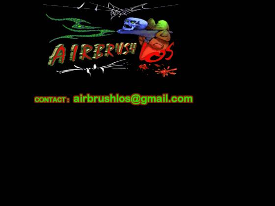 aerographie LOS airbrush