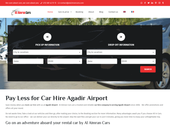 Car hire agadir