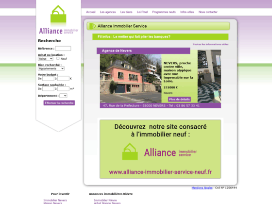 Alliance Immobilier Service