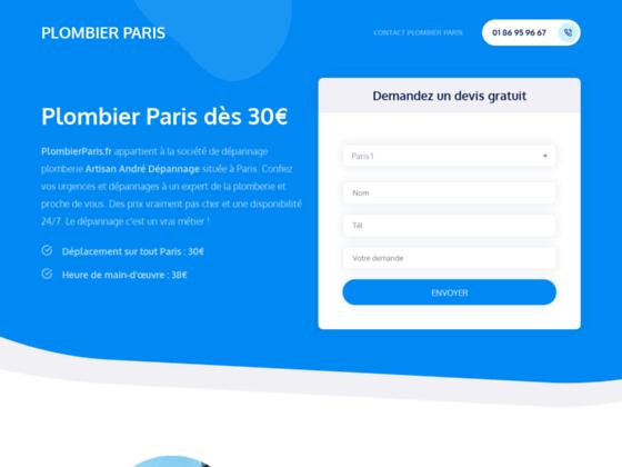 Plomberie Paris