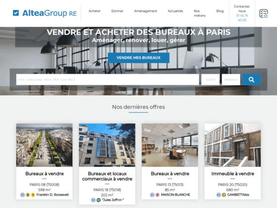 Altea Group: vente, achat, location bureaux