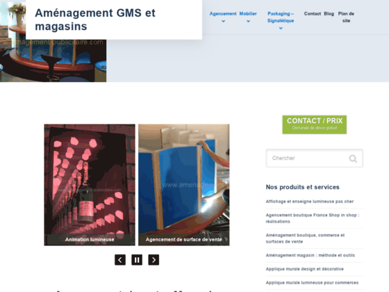 Amenagement publicitaire - Outils Marketing PLV