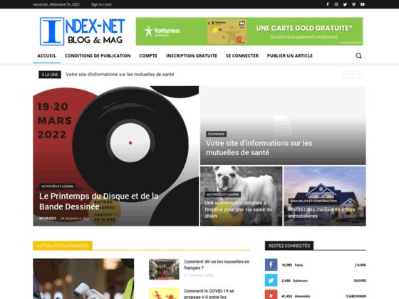 Annonce gratuite Indexnet