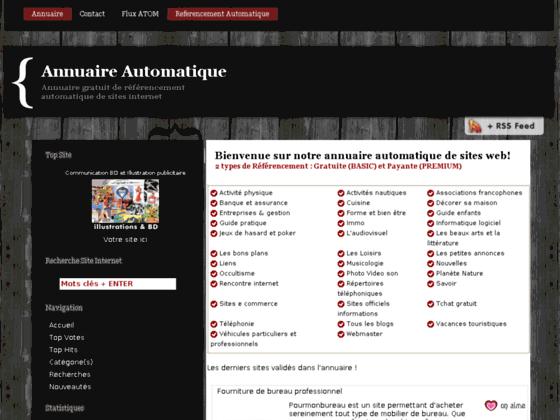 Annuaire automatique