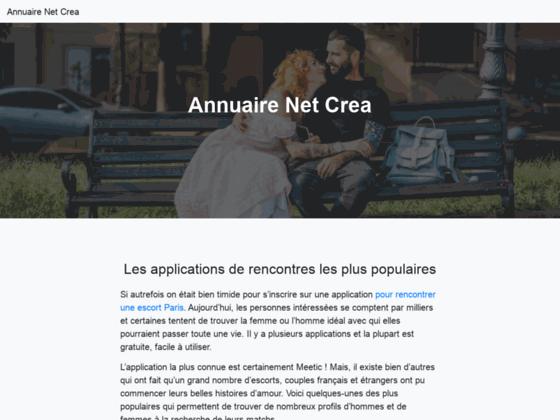 Annuaire de référencement, référencer un site dans annuaire net crea
