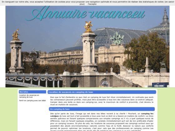 Annuaire Sites Vacances