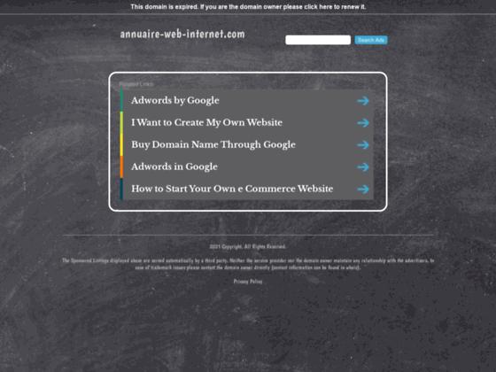 Annuaire Web Internet Gratuit