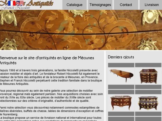 Méounes Antiquités, mobilier ancien et objets d'ar