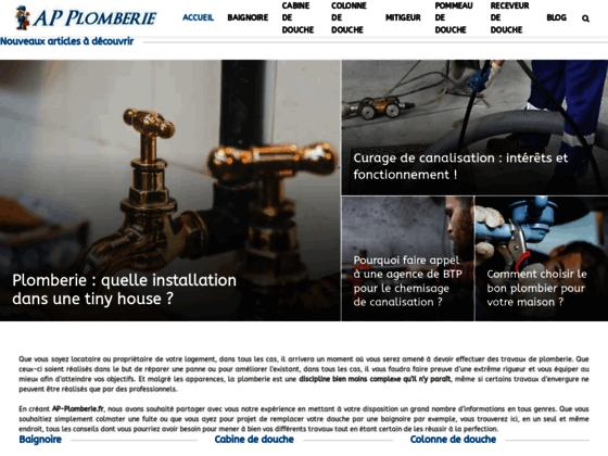 AP-plomberie socièté de plomberie Paris et île de France