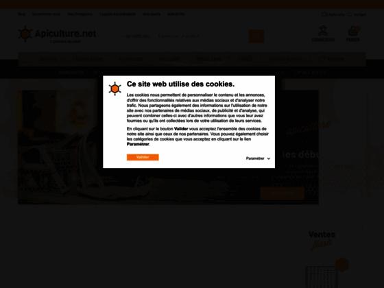 Vente en ligne de matériaux d'apicultures