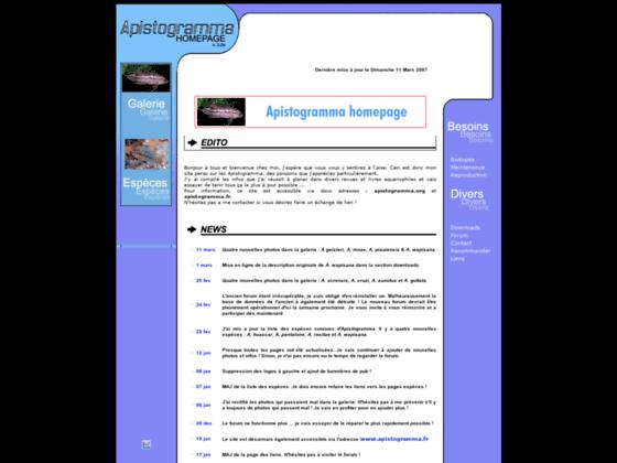 Apistogramma Homepage