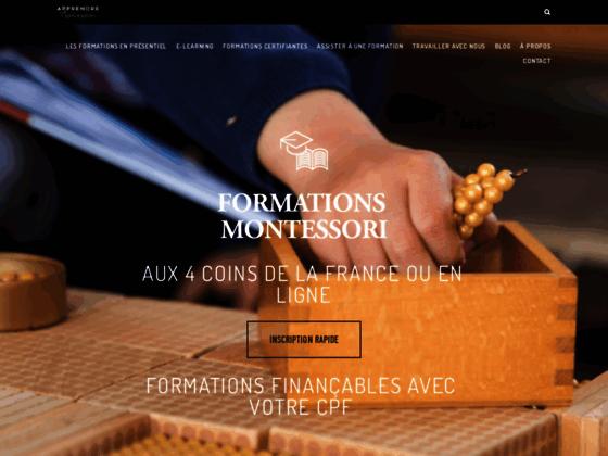 Apprendre Montessori