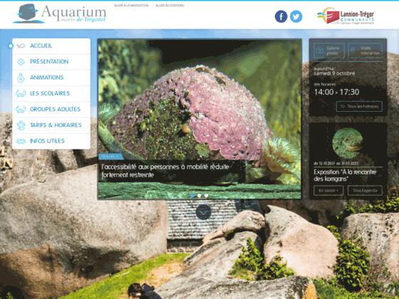 Aquarium marin de Trégastel en Bretagne