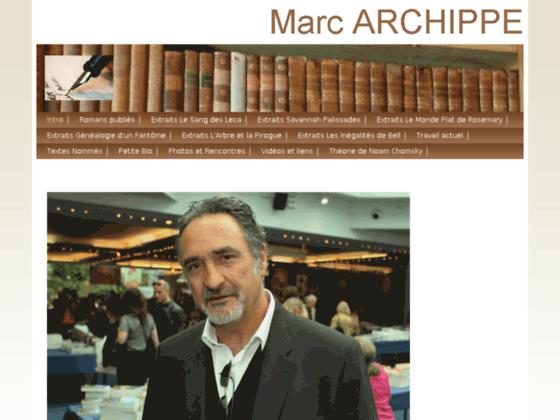 Litterature française, marc archippe écrivain romancier du sud