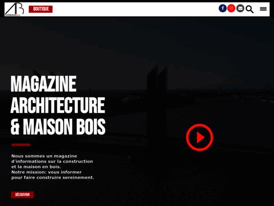 Maison en bois en kit, maison bois, construction maison bois - architecturebois.fr
