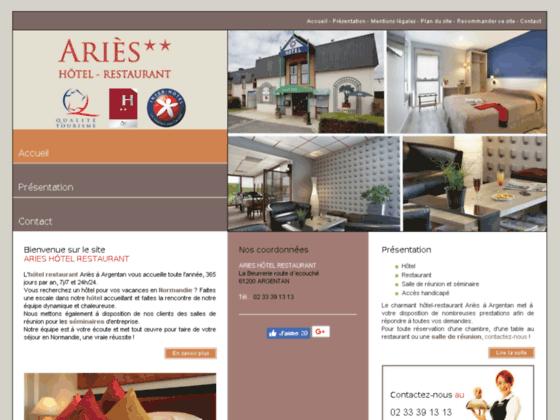 Hôtel à Argentan - Aries Hôtel Restaurant