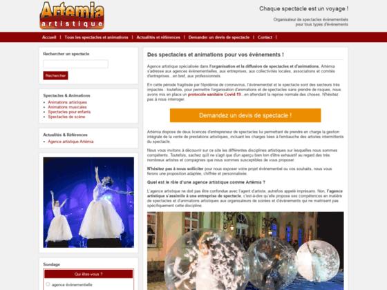 Agence Artistique - Artémia
