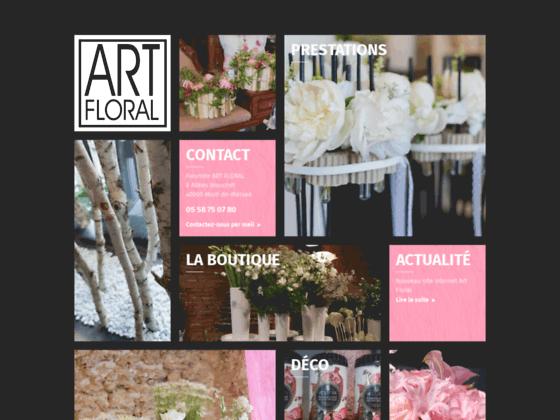 Sarl Art Floral votre fleuriste à Mont-de-Marsan.