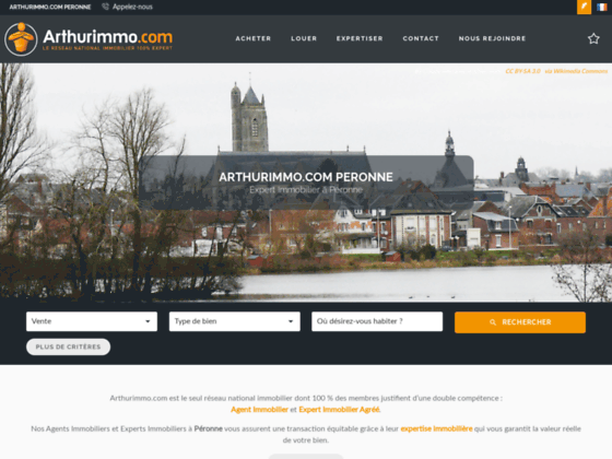 Agence immobilière Arthurimmo Peronne