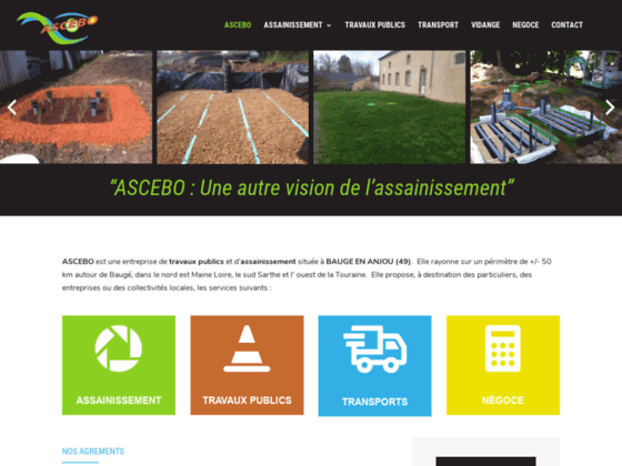 ASCEBO - Travaux publics Angers