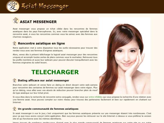 Chat avec des asiat par messenger